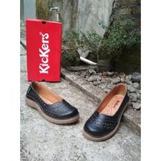 Kickers Women Black Flat Shoes Asli