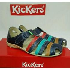 Beli Kickers Women Blue Flat Shoes Di Jawa Barat