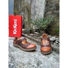 Toko Kickers Sandal Sepatu Women Oy Brown Online Di Jawa Timur