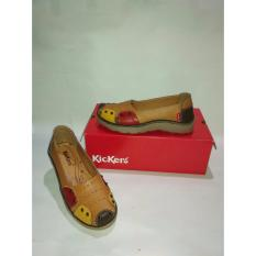 Diskon Besarkickers Women Flat Shoes Kuning Bunga
