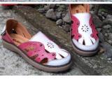 Beli Kickers Women White Pink Leather Seken