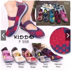 Toko Kiddo Flat F558 Box 558 Sepatu Rajut Anyam Cynthia Bernice Lulia Oggo Termurah Di Indonesia