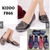 Cara Beli Kiddo Flat F866 Box Original Sepatu Rajut Anyam