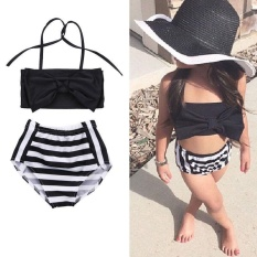 ... Girl Mermaid Tail Swimwear Children Bikini Set Bathing Suit Swimsuit Baby Swimming Costumered Intl. Kids Baby Girls Bikini Suit Swimsuit Swimwear Mandi