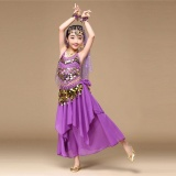 Beli Barang Anak Anak Girls Belly Dance Pakaian Kostum India Dance Clothes Top Rok Intl Online