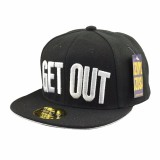 Kids Girls Boys Baseball Hat Street Dance Letter Get Out Snapback Hip Hop Caps For Child Hong Kong Sar Tiongkok Diskon