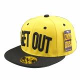 Promo Anak Perempuan Laki Laki Topi Bisbol Tarian Jalanan Surat Keluar Snapback Hip Hop Topi Untuk Anak Intl Unbranded