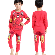 Anak-anak Piyama Super Heroes (IRON MAN)-Intl
