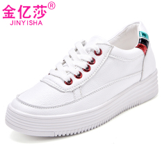 Kim Miliar Musim Semi Baru Sepatu Angsa Emas Kets Putih (YUBK1613 Platinum)