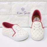 Spesifikasi Kim Sepatu Anak Slip On Loafer Perempuan Mcp2 Putih Yang Bagus