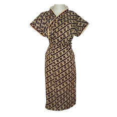 KimChi - Kimono Batik Javanese Style Motif 002 -  Coklat