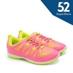 Beli Kimmy Sepatu Sport Wanita Fuchsia L Green Size 36 40 Seken