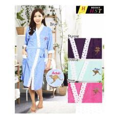 Kimono Baju Handuk Sekaligus Selimut Daster Baju Tidur Perempuan Dewasa Speciall Satu Ukuran
