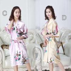 Kimono Outer 880 S3xy Lingerie Kimono Tidur Lingeri Baju Tidur Satin - Jizsj5
