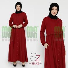 Kinan Maxi Dress Baju Gamis Muslim Elegan Busui Cantik - Original Shaz