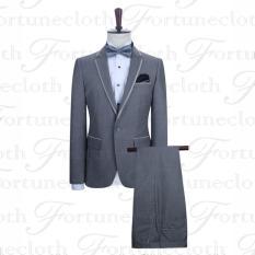 Harga Kingdom Fashion Setelan Jas Pria New Style Setelan Jas Pria Bahan Wol Best Quality Fullset Murah