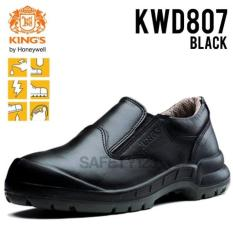 Kings Kwd 807X Sepatu Safety Shoes King's Kwd807 Hitam Termurah Proyek - 1Zweqs