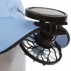 Beli Kipas Angin Mini Jepit Topi Tenaga Solar Hitam Nyicil