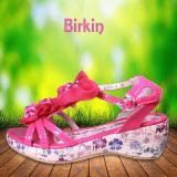 Beli Kipper Type Birkin Sandal Anak Perempuan Merah Jambu Yang Bagus