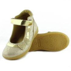 Harga Kipper Type Booty Sepatu Anak Perempuan Emas New