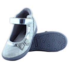 Spek Kipper Type Booty Sepatu Anak Perempuan Silver