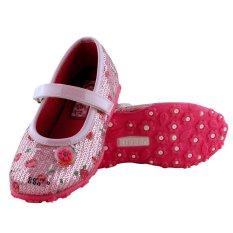 Spesifikasi Kipper Type Classic Sepatu Anak Perempuan Merah Muda Lengkap