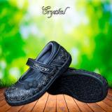 Pusat Jual Beli Kipper Type Crystal Sepatu Anak Perempuan Slip On Hitam Jawa Timur