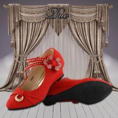 Beli Kipper Type Duo Sepatu Anak Perempuan Merah Secara Angsuran