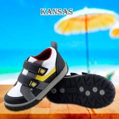 Miliki Segera Kipper Type Kansas Sepatu Anak Laki Laki Hitam