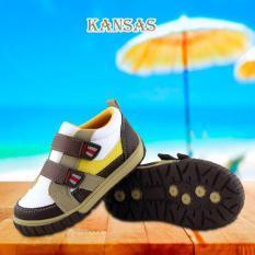 Diskon Kipper Type Kansas Sepatu Anak Laki Laki Slip On Coklat Branded