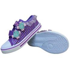 Katalog Kipper Type Kp 102 Sepatu Anak Perempuan Ungu Terbaru