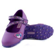 Diskon Kipper Type Marsha Sepatu Anak Perempuan Ungu Branded