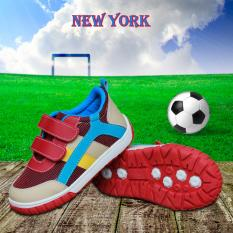 Review Kipper Type New York Sepatu Anak Laki Laki Slip On Merah Indonesia