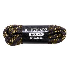 KipzKapz Shoelace - RS12 Brown Yellow Blue 160cm - Tali Sepatu Bulat / Round