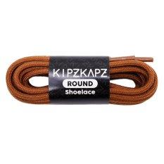 KipzKapz Shoelace - RS7 Brown 140cm - Tali Sepatu Bulat / Round