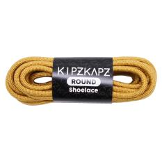 KipzKapz Shoelace - RS9 Brown Gold 115cm - Tali Sepatu Bulat / Round