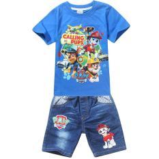 Diskon Kisnow 3 10 Tahun Boys 95 135 Cm Tubuh Tinggi 2 Pieces Cotton Kartun T Shirt Jeans Pant Warna Blue Intl Mikanoni Kisnow Di Tiongkok