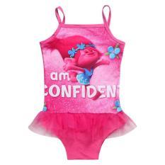 Toko Kisnow Troll G*rl S 95 145 Cm Tubuh Tinggi B*k*n* Swimsuits Warna Rose Intl Mikanoni Tiongkok