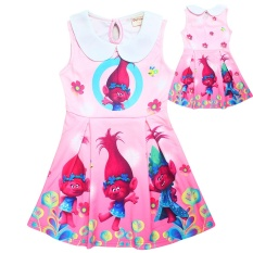 Review Kisnow Troll G*rl S Elastic Modal 3 15 Yrs100 155Cm Tinggi Badan Gaun Warna Pink Intl Kisnow