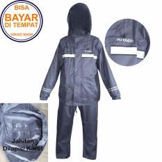 Beli Kitaco Jas Hujan Stelan Jaket Celana 2 Lapis Bahan Dan Desain Mirip Seperti Jas Hujan Axio Dark Blue Kitaco Asli