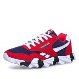 Tips Beli Klywoo Fashion Pria Sneakers Mens Olahraga Kasual Sepatu Merah Yang Bagus