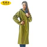 Spek Knight Kanvas Kuning Tebal Ponco Jas Hujan Tentara Kuning Mantel Panjang Baju Wanita Jaket Wanita