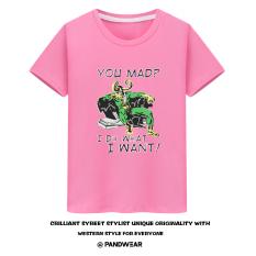 Kocok Sen Aliansi Avenger Rocky Rocky Baju Kaos Loki Saya Melakukan Apa Yang Saya Inginkan Lengan Pendek Pria (Merah Muda)