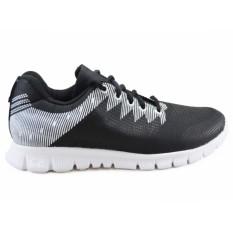 Spesifikasi Koketo Cervantes Hitam Sepatu Sneakers Trendy Unisex Terbaru Original