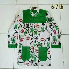 Koko Batik Anak Kombinasi Real Pict