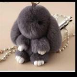 Harga Kopenhagen Fur Bunny 13Cm Gantungan Tas Kelinci Dark Grey Termurah