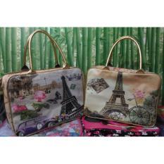 Jual Koper Travel Bag Karakter Super Kanvas Untuk Tas Piknik Cantik Branded