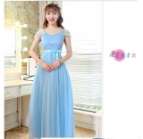 Diskon Gaun Pengapit Wanita Model Panjang Lengan Pendek Sedang Gaya Korea Banyak Warna Multimodel D Model Tas Bahu Bahu Model Langit Biru Oem Di Tiongkok