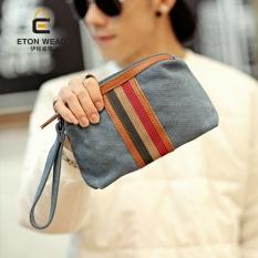 Model Baru Gaya Korea Tas Tangan Tas Kanvas Pria Tas Tangan Pria Wanita Casual Tas Genggam Pasang Model Pria Tas Kecil By Koleksi Taobao.