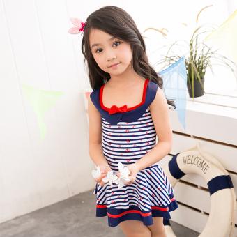 baju renang anak Korea Fashion Style Anak Perempuan Membagi Gaya Rok Berenang Baju Renang Anak Baju